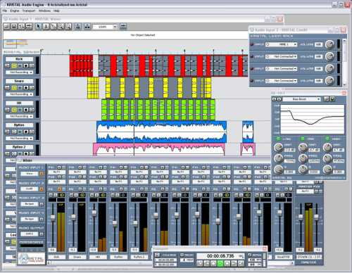 Aufnahme Freeware Kristal Audiosequenzer