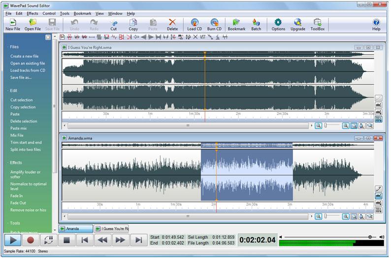 audio aufnahme software freeware: