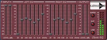 Kjaerhus Audio Classic Equalizer